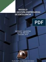 Modelo para una Gestión Empresarial de Excelencia 2010