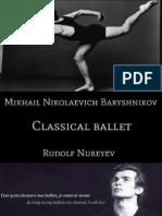 Το κλασσικό μπαλέτο και οι κύριοι εκφραστές του