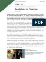 US-Präsident Obama und Kanzlerin Merkel - Nur noch nüchterne Freunde - Süddeutsche.de