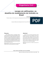 Tempo de escape em edificações os desafios do modelamento de incêndio no Brasil