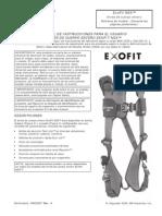 Ficha Tecnica de Arnes IFU 5903027 Exofit NEX Harn SP-L