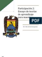 Participacion_2_Ensayo Tecnicas de Aprendizaje Maestros