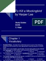 Study Guides To Kill A Mockingbird