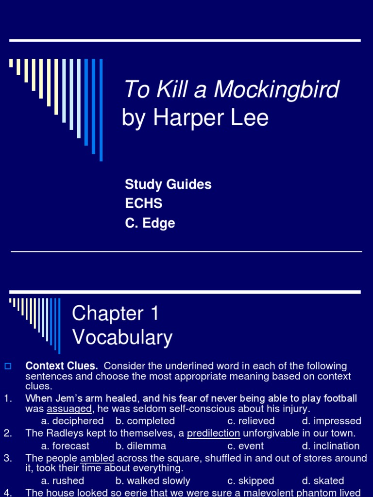 Thesis for to kill a mockingbird essay
