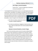 Anomia y sociedades trágicas en América Latina
