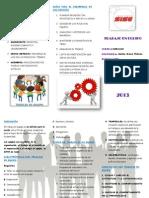 Características de los participantes para trabajar en equipo