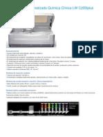 Auto Analizador Química Clínica LW C200iplus