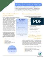 EPA 530-F-07-005 Schools Chemical Cleanout Campaign