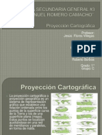 Expo. Proyeccion Cartografica