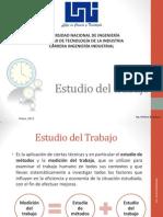 Estudio Del Trabajo y PCP