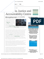 With Escalation Looming, Accountability More Urgent Than Ever- The SJAC Weekly Update