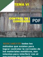 UCR TEMA VI CONTROL DE LA CORROSIÓN - copia