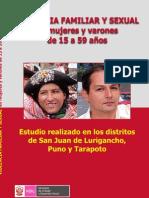 2009  Perú- MINDES Olga y Hualloa  Violencia intrafamiliar