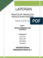 5. Crude Coconut Oil