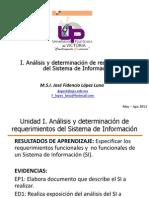 1.- Analisis y Det de Req Del SI