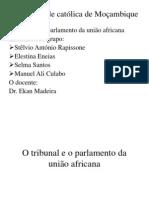 Trabalho do Tribunal da União Africana