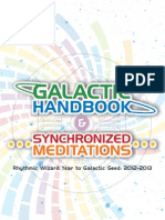 Galactic Handbook and Synchronized Meditations Chromatic Maya