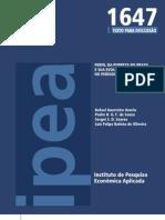PERFIL DA POBREZA NO BRASIL E SUA EVOLUÇÃO NO PERÍODO 2004-2009