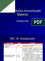 Taller de Normas Internacionales de Contabilidad - NIC 16 Activo Inmovilizado
