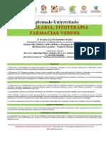 Programa Diplomado Herbolaria Fitoterapia Farmacias Verdes 2013
