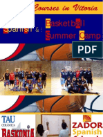 Basketball Camp in Spain for Juniors 2009