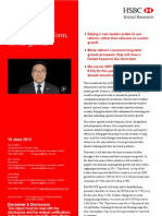 130620 China - Faster Reform, Slower Growth