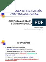 Programa de Educacion Continuada Cafam
