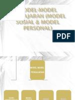 Model Sosial & Personal