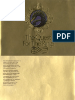 The Quest for the Rings Odyssey² game manual