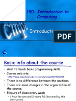 Ch1 Introduction to C programming language