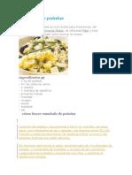 Ensalada de Patatas Criollas