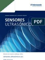 Microsonic Ucs SENSORES