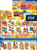 Friedman's Freshmarkets - Weekly Specials - June 27 - July 4, 2013