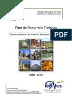 Plan de Desarrollo Turistico Municipio de Tabio