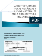 Exposicion estructuras metalicas