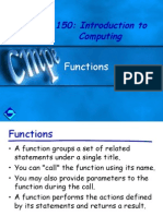 Ch4 Functions