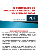 Manejo Controlado de Explosivos y Seguridad en Voladura Civil