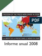 [LibrosEnInglés] reporters without borders - reporte sobre la libertad de la prensa en 2008