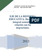 EJE DE LA REFORMA E.