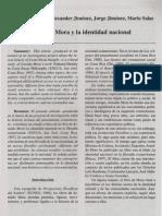 Arnoldo Mora y La Identidad Nacional