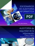 Escenarios de Auditoría Informática