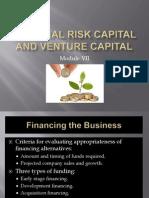 informal risk capital and venture capital
