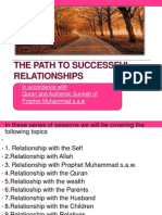 The Path to Successful Relationships - Allah Swt