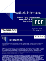 Auditoria Informática herdeca PRESENTACION