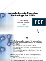 Microfludics-An Emerging Technology for SMEs