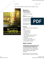 Ari Zkari - Tantra coach Book promo