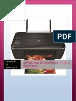 Impresoras Chorro de Tinta