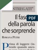 Cos'é la lettura per Romana Petri - La Stampa 19.06.2013