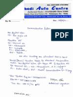 chamagram sujapur Demonstration Letter
