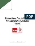 Plan de Empleo Joven Para La Comunidad de Madrid